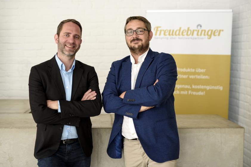 Freudebringer & SOCOM kreieren neue Werbeform