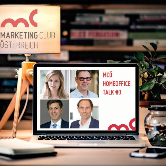 MCÖ Homeoffice Talk #3 - Live aus den Wohnzimmern der MarketingentscheiderInnen