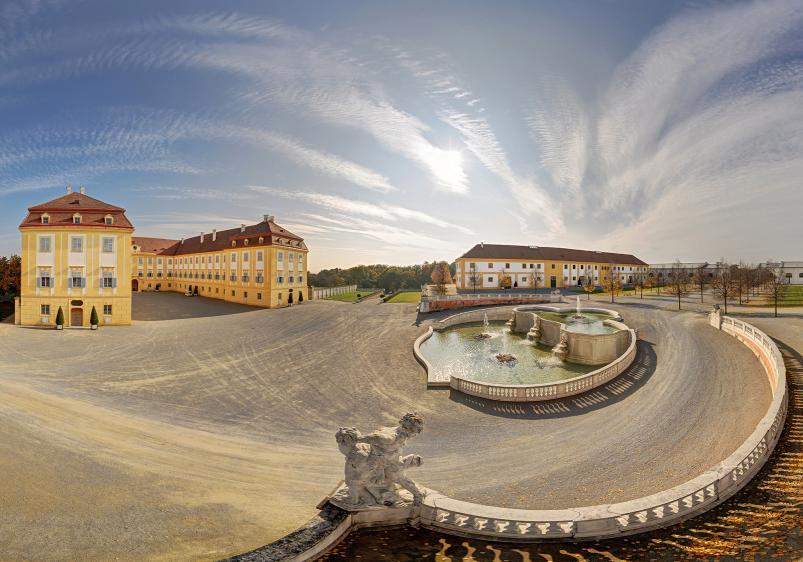 Schloss Hof - Herbststimmung