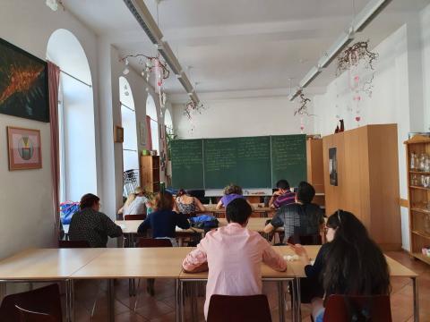 ADRA Schulungsraum für Deutschkurse