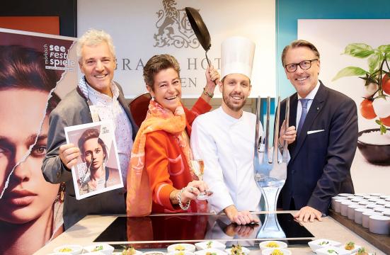 Peter Edelmann, Karin Strahner, Jürgen Lengauer, Horst Mayer. credits Sabine Klimpt
