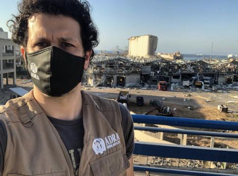NRO ADRA Vor Ort in Beirut