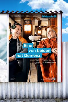 Diakonie Demenz-Kampagne Plakat