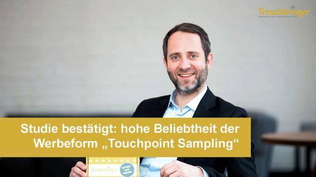 Aktuelle Studie: Hohe Beliebtheit der Werbeform Touchpoint-Sampling