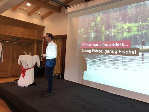 Gerhard Kürner beim Führungsforum Kitzbühel 2018