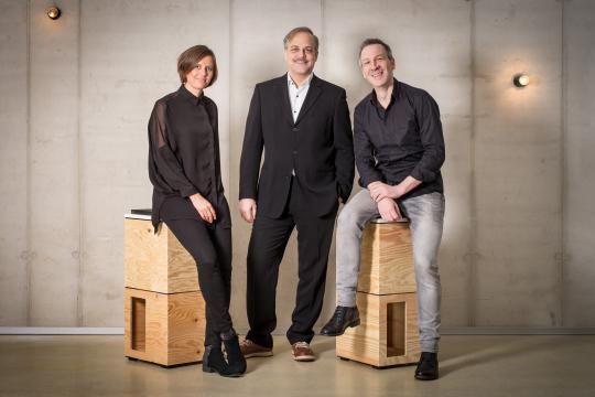Identum GFs: Sabrina Maier, Helge Haberzettl, Werner Stenzel