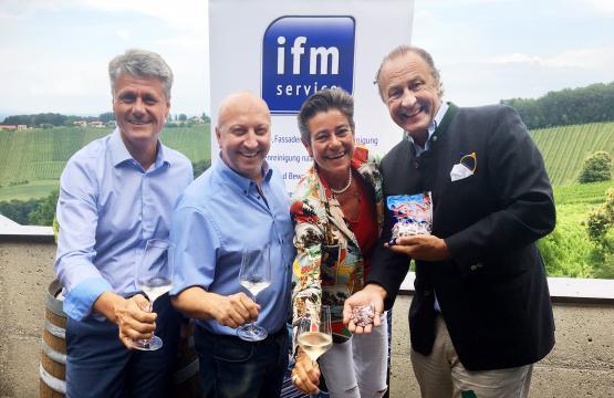 Werner Pillwein, Andreas Ubl, Karin Strahner, Franz S. Englhofer
