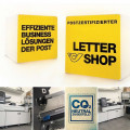 Wir sind postzertifizierter Lettershop