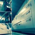 großer digitaler Maschinenpark