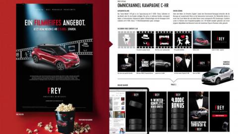 Omnichannel Kampagne C-HR für Toyota Frey