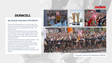 Duracell am Vienna City Marathon