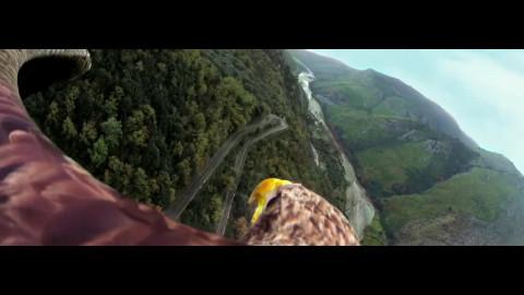 Adler will frei sein