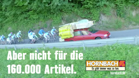 Hornbach sagt sorry