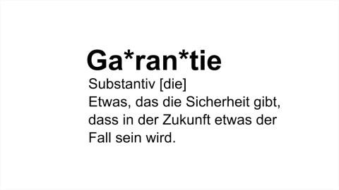 "Imagekampagne ""Garantiert"""
