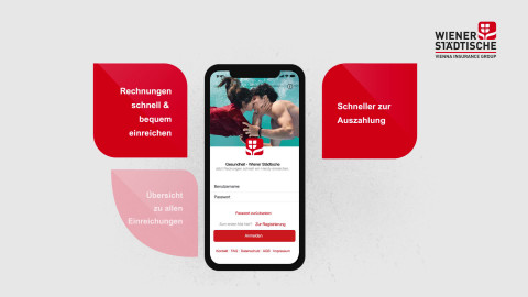 """WIENER STÄDTISCHE VERSICHERUNG AG """"Gesundheits-App"""""""