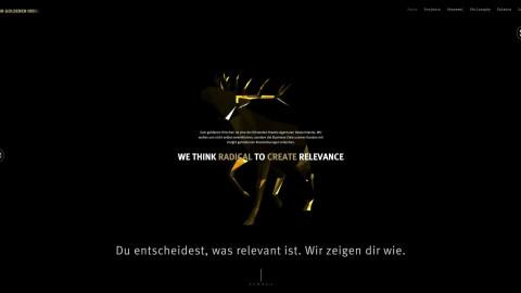 Zum goldenen Hirschen Website