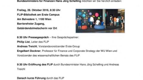 Eröffnung FLiP