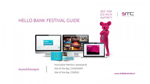 Hello bank! Festival Guide