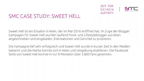 Sweet Hell Influencer Testwochen