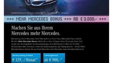 Der Mehr-Mercedes