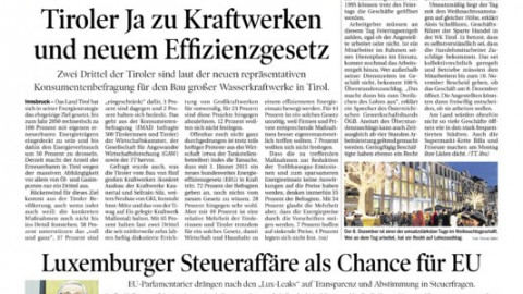 Tirol 2050 energieautonom