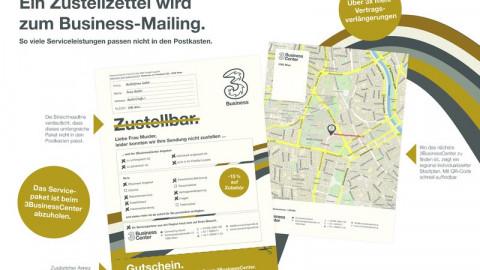 Ein Zustellzettel wird zum Business-Mailing