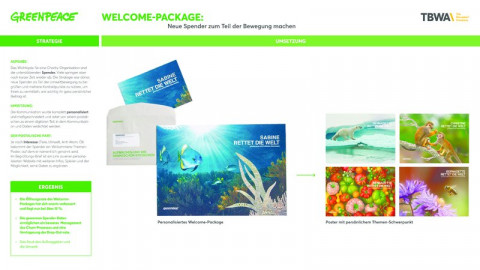 Greenpeace Welcome-Package