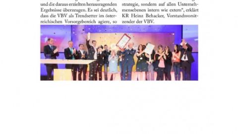 Event-PR zum Staatspreis Unternehmensqualität