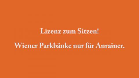 "Aktion ""Anrainerparkbank"""