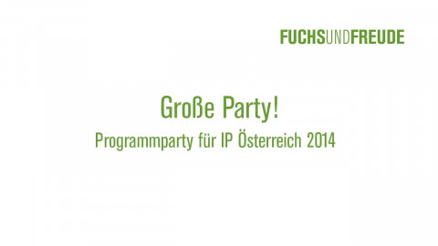 IP Sommerparty Große Formate