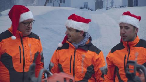 Husqvarna: Das Motorsägen-Weihnachtslied