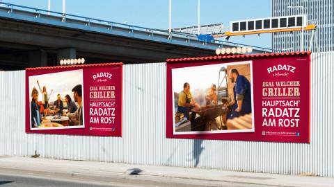 RADATZ Plakatkampagne