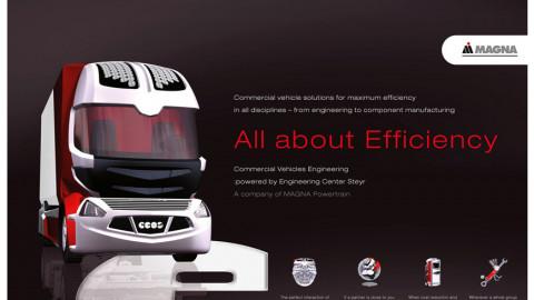"""MAGNA International Marken- und Kommunikationskonzept """"All about efficiency"""""""