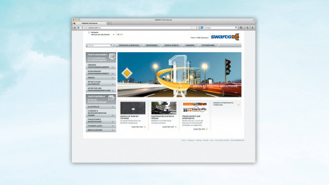 Swarco - First in Traffic Solutions.