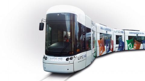 Straßenbahn-Branding
