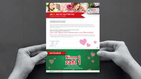 Direct Mail Muttertag