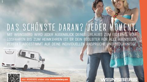 Gestaltung & Storytelling Weinsberg Caravan