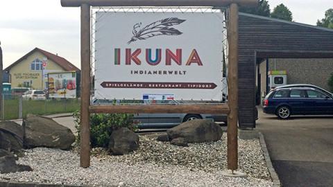 Markenauftritt IKUNA Indianerwelt
