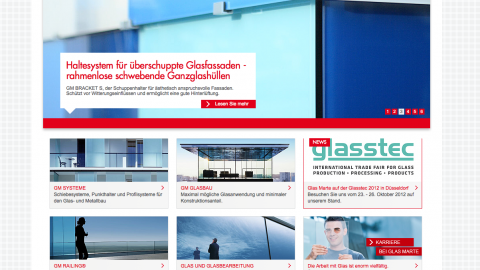 Glasmarte Corporate Website