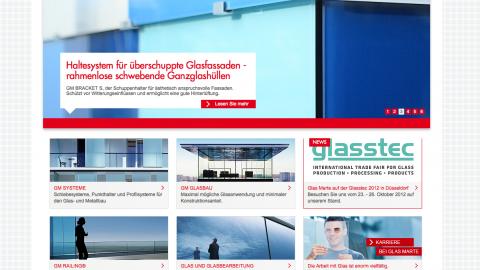 Glasmarte Corporate Website