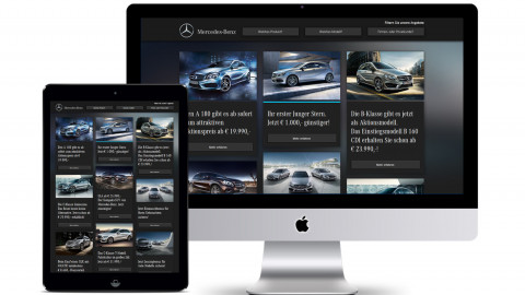 Mercedes-Benz Österreich Aktionen-Microsite