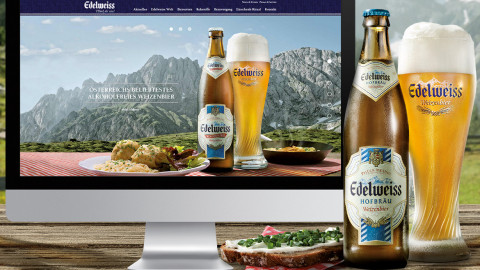 Edelweiss Website Relaunch