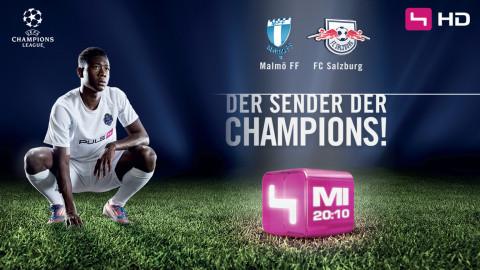 Puls 4 - Hier spielt die UEFA Champions League