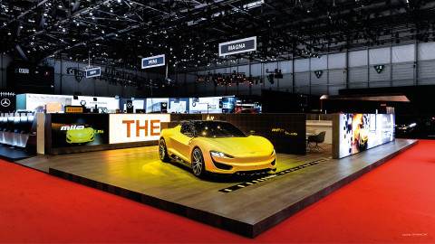 Magna - Automobilsalon Genf