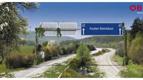 Plakat Autobahn