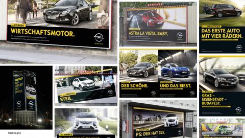 Neues Selbstbewusstsein für Opel.