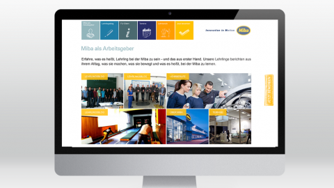 Lehrlingswebsite