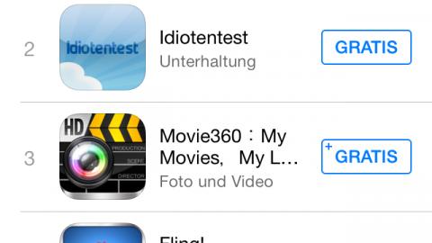 Nr 1 App im App Store