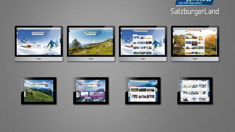 SalzburgerLand Webseite