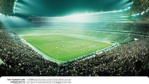 Anzeige Stadion